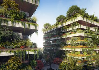 Architect Stefano Boeri Unveils Plans For Africa's First Vertical Forests