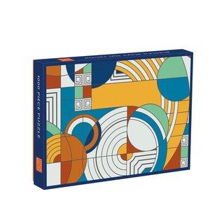 Frank Lloyd Wright Hoffman Rug Puzzle