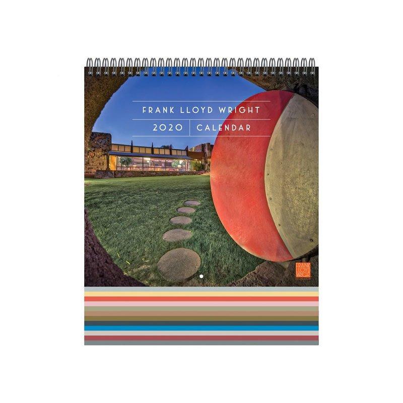 Frank Lloyd Wright 2020 Wall Calendar