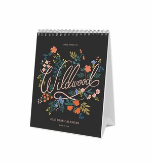 Rifle Paper Co. Wildflower 2020 Desk Calendar