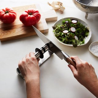 Zwilling Twinsharp Stainless Steel Handheld Knife Sharpener