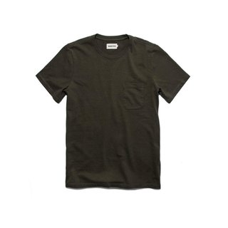 Taylor Stitch Heavy Bag Tee in Cypress