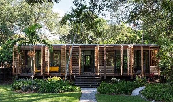 Inspired by Multiple Styles of The American South, This Miami Home Lists For $1.78M