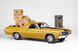 Blu Dot's Giving Away an Ultra Greasy '72 El Camino Loaded With $10K of Goodies