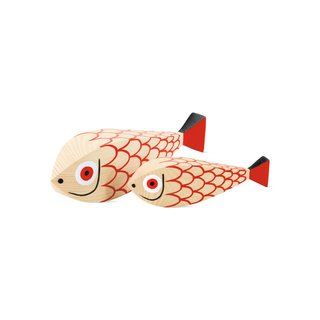 Vitra Girard Wooden Fish, Set of 2