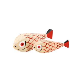 Vitra Girard Wooden Fish, Set of 2