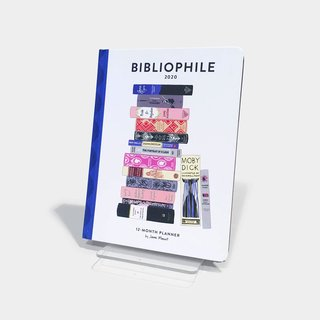 Bibliophile 2020 12-Month Planner