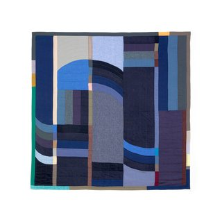 Thompson Street Studio Arc Cotton & Linen Blend Quilt