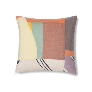 Thompson Street Studio Abstract Landscape Accent Pillow