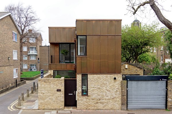 Snag This Copper-Clad Home in London For Just Under $1M