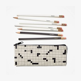 The New York Times Daily Crossword Pencil Set