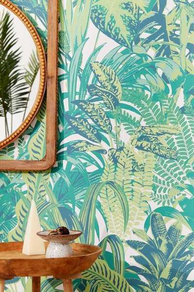 Urban Outfitters Dreamy Jungle Wallpaper By Urban Outfitters Dwell
