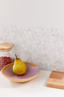 Hexagon Tile Adhesive Backsplash Decal Set