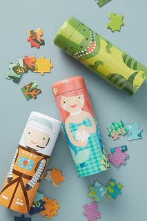 Petit Collage Kids Puzzle and Coin Bank