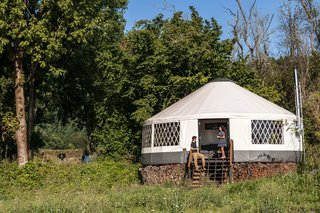 Construction Diary Modern Yurt By Zach Both Dwell Start exploring our yurt pictures below! construction diary modern yurt by zach