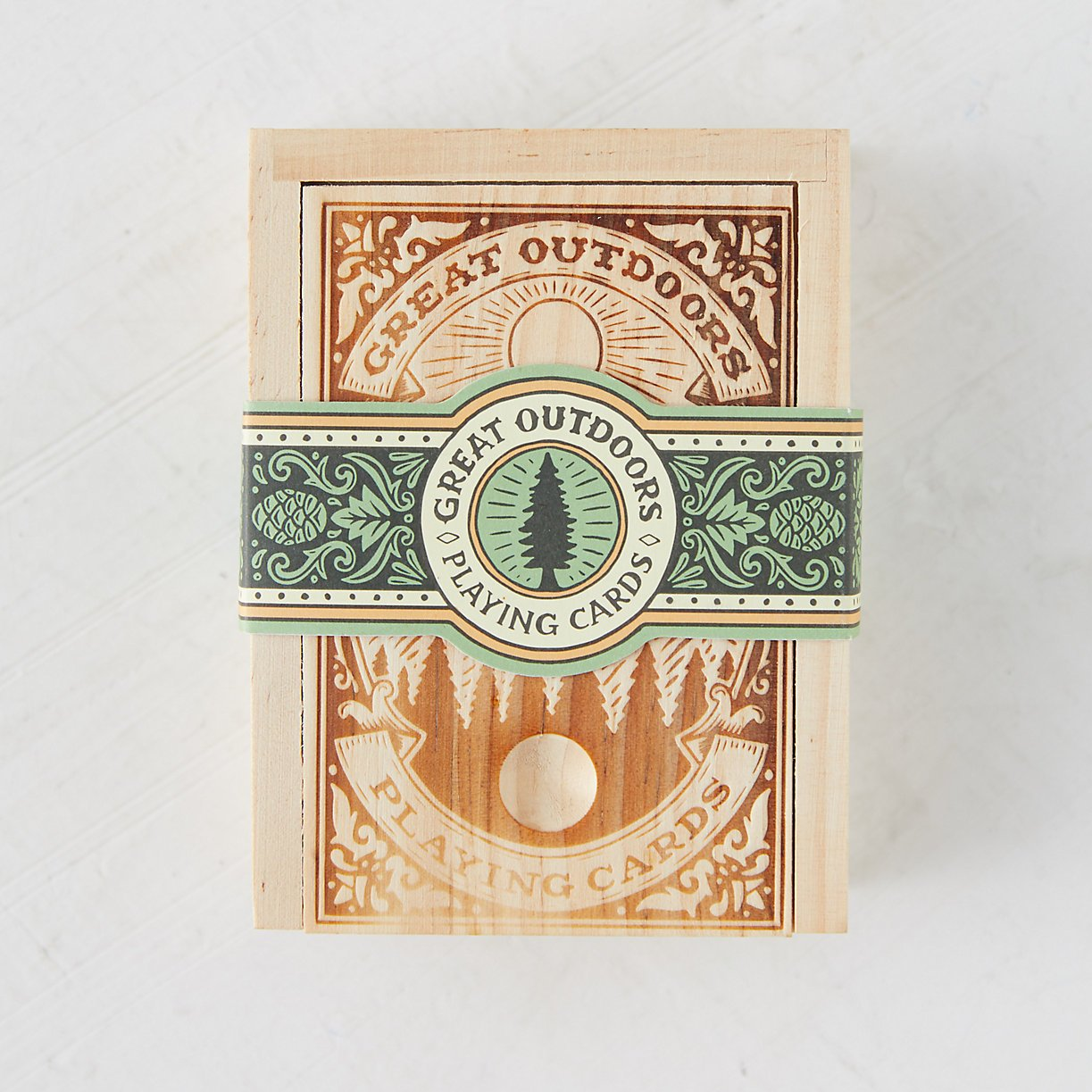 Great Outdoors Playing Cards