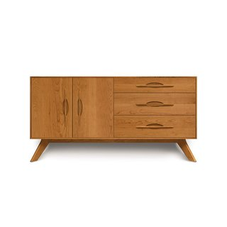 Copeland Furniture Audrey Buffet - 2 Doors and 3 Drawers