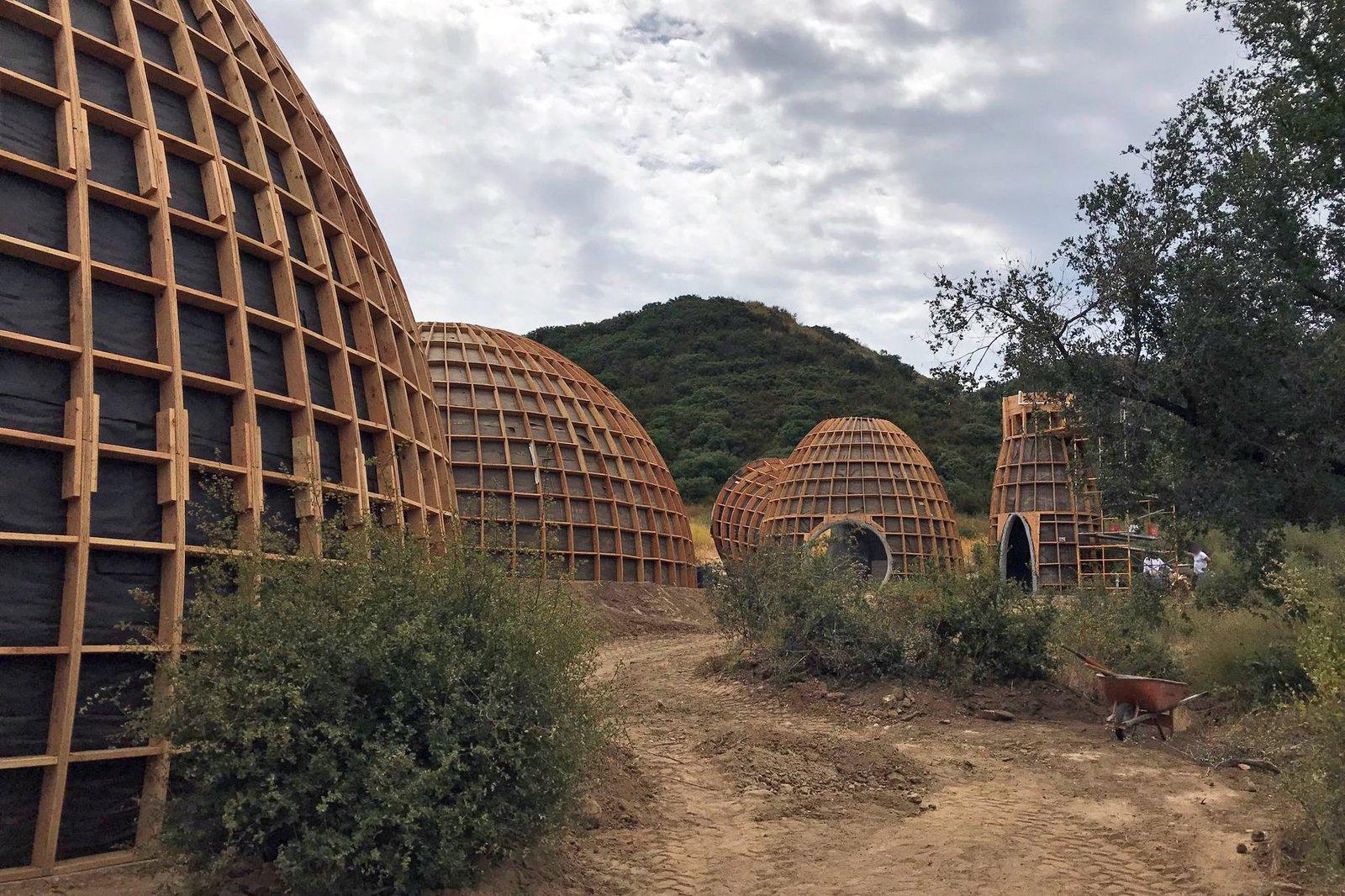 Kanye West's Prefab Dome Homes Have Been Demolished