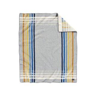 Pendleton Oslo Evening Stripe Wool & Cotton Throw Blanket