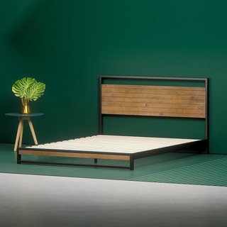 Zinus Suzanne Low Profile Platform Bed Frame
