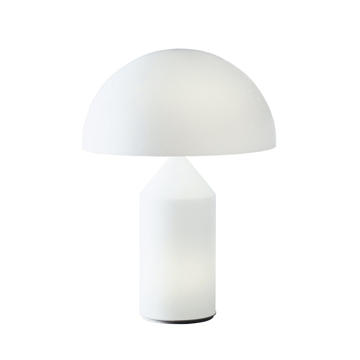 Oluce Atollo Glass Table Lamp