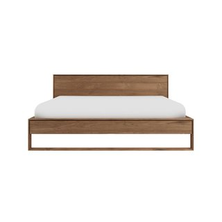 Ethnicraft Nordic II Bed With Slats