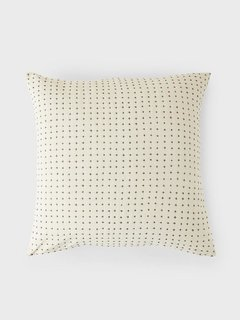 Anchal Project Organic Cotton Cross Throw Pillow Cover