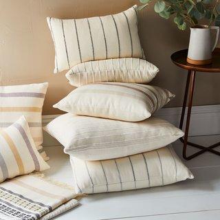 MINNA Recycled Cotton Throw Pillows