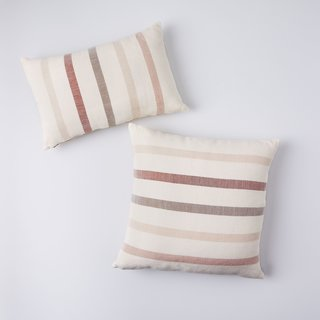 MINNA Sun-Faded Stripe Pillows