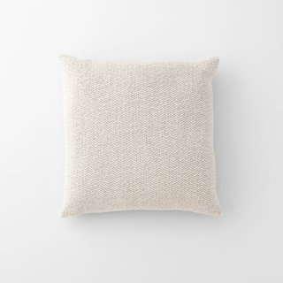 Schoolhouse Ivory Wool Throw Pillow