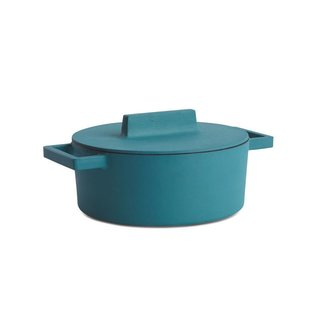 Sambonet Terra Cotto Large Round Casserole with Lid