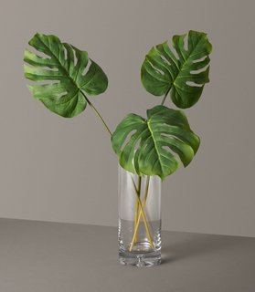 The Sill Faux Monstera Leaves Trio