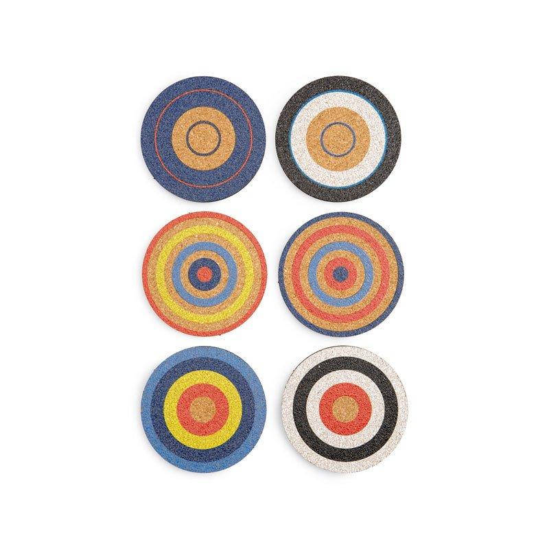 Fredericks & Mae Set of 6 Cork Coasters