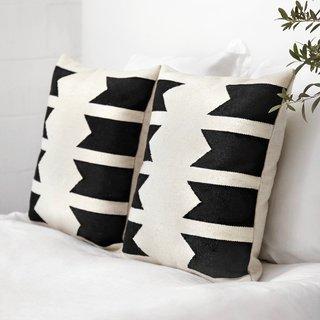 The Citizenry Urbano Pillow - Black
