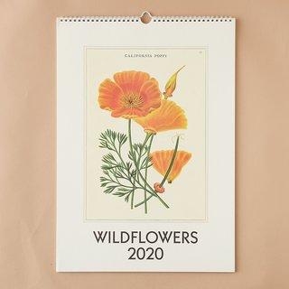 2020挂历,野花