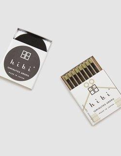 Hibi Japanese Cypress Incense Match Box