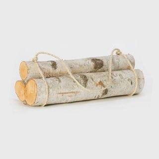 Birch Log Bundle, Small