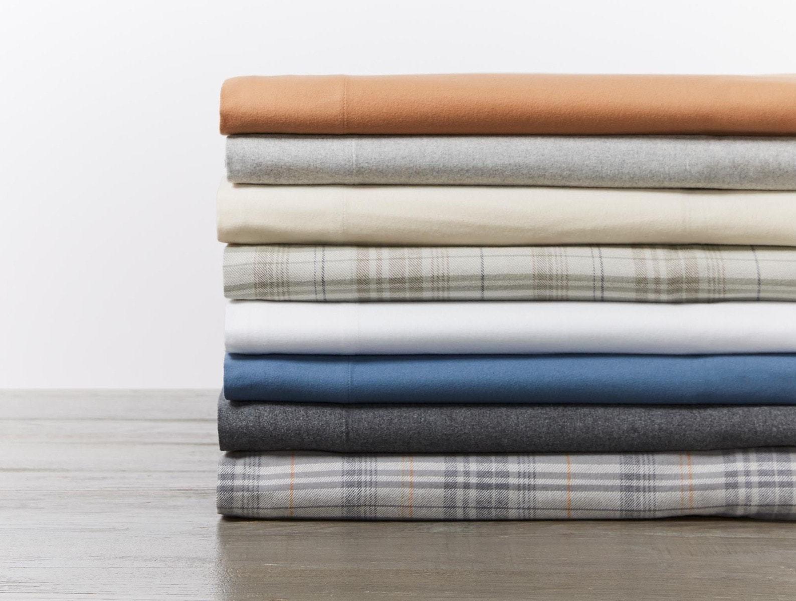 Coyuchi Cloud Brushed Organic Flannel Sheets By Coyuchi Dwell