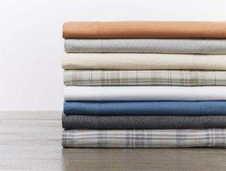 Coyuchi Cloud Brushed Organic Flannel Sheets