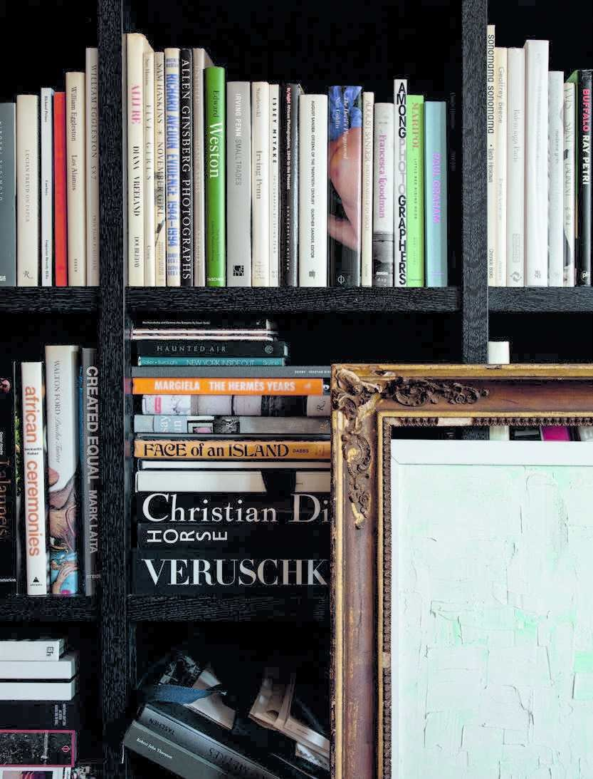 Storage Room and Shelves Storage Type  Photo 4 of 6 in Fashion Designer Philip Lim's NYC Loft Is a Book-Filled Oasis