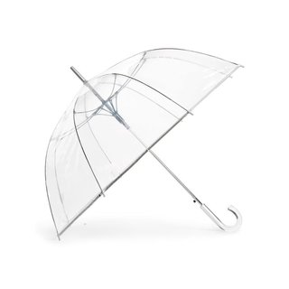ShedRain Auto Open Stick Clear Dome Umbrella