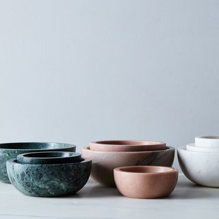 Hawkins New York Marble Nesting Bowls