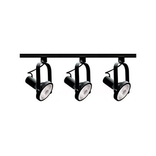 Nuvo Lighting 3-Light PAR30 Gimbal Ring Track Lighting Kit