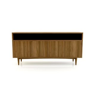 Medley Atten Open Shelf 4-Door Credenza