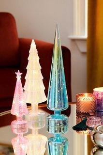 MoMA LED Light Glass Christmas Tree