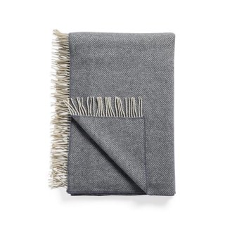 Arhaus Herringbone Throw