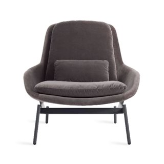 Blu Dot Field Velvet Lounge Chair