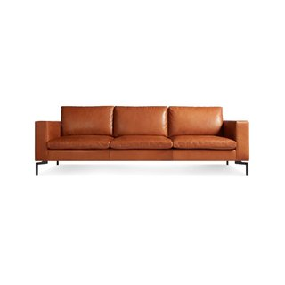 "Blu Dot New Standard 92"" Leather Sofa"