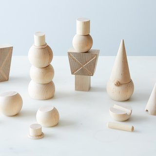 Fruitsuper Wooden Stackable Figures