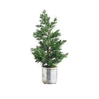 ALLSTATE Faux Juniper Tree in Pot